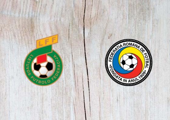Lithuania vs Romania - Highlights 11 October 2018