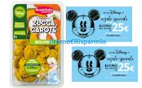 Logo Con la pasta Scoiattolo ''Raggi di Sole'' vinci ogni giorno un buono Disney Store da 25€