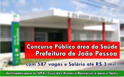Apostila Concurso Prefeitura de João Pessoa - área da Saúde 2017