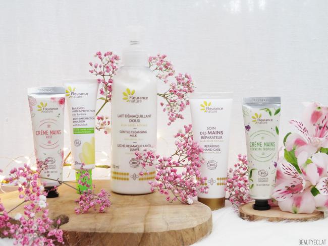 revue avis test soins visage corps fleurance nature
