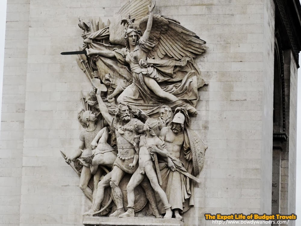 bowdywanders.com Singapore Travel Blog Philippines Photo :: France :: Only in France: Arc de Triomphe in Paris