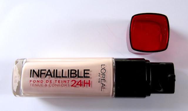 L'OREAL PARIS Infaillible Fond de teint Tenue et Confort 24h
