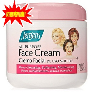 Kem Dưỡng ẩm và Mịn Da mặt Jergens Face Cream của Mỹ www.huynhgia.biz