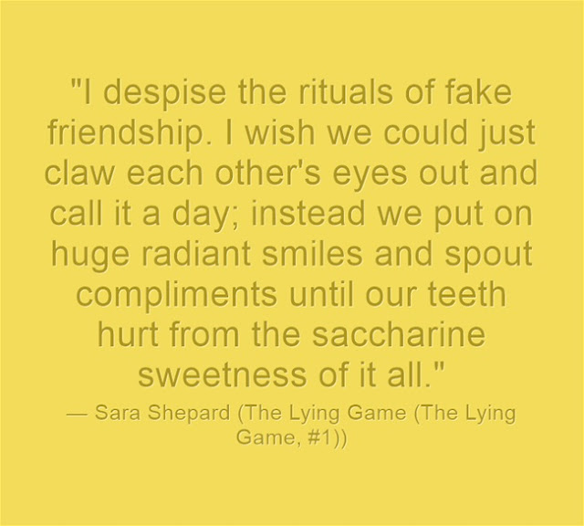 Real Fake Friends quotes