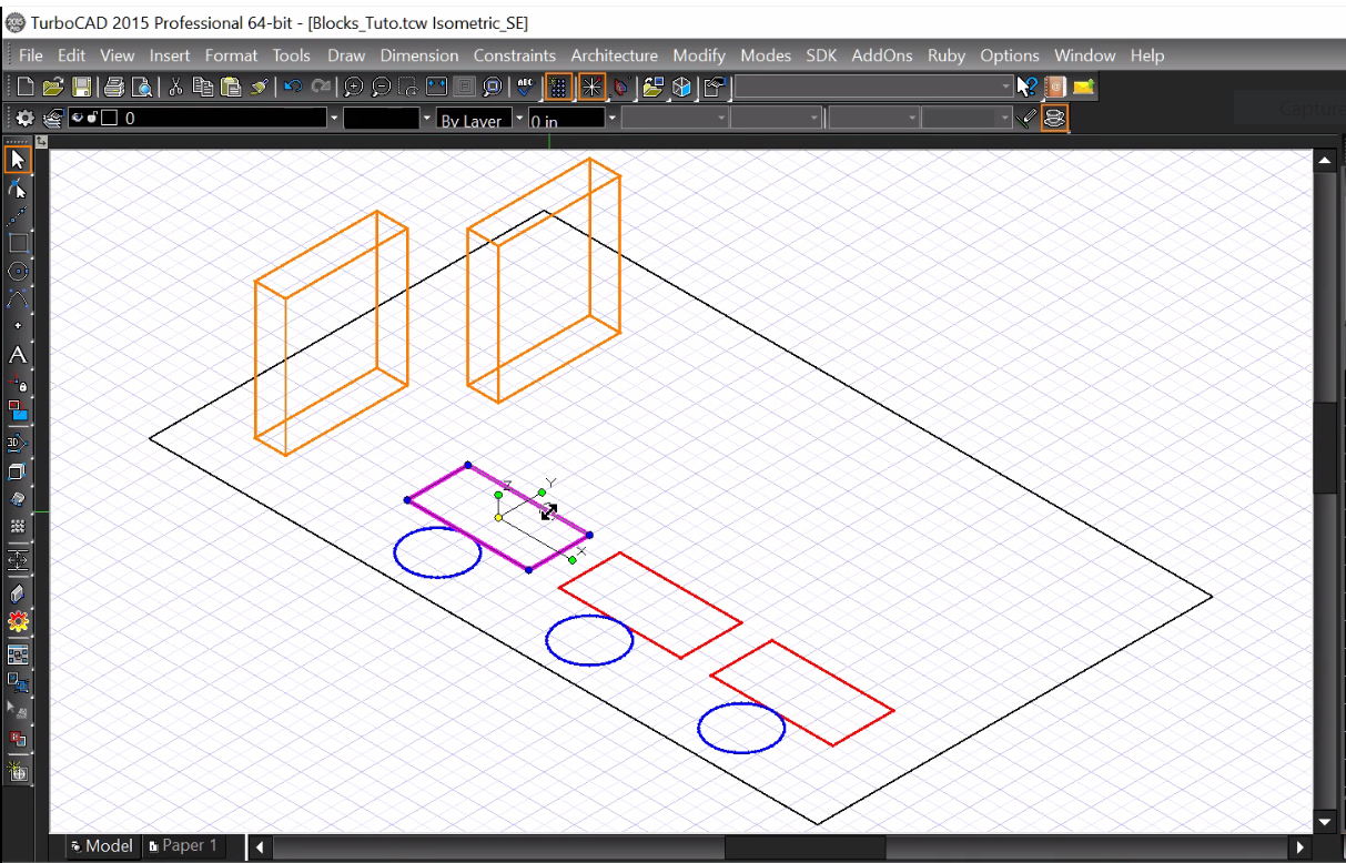 Turbocad Le Coffre Outils Cao The Cad Toolbox How Make A Block Diagram Create