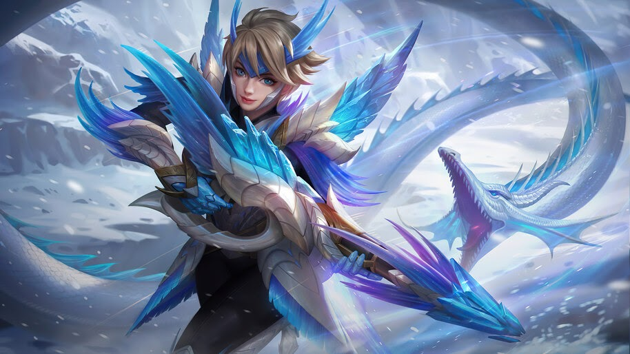 Kimmy, Frost Wing, Mobile Legends, Skin, 4K, #7.2278