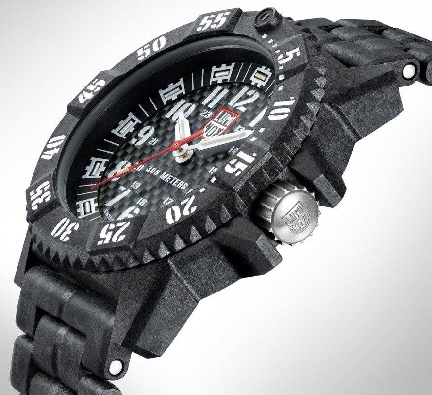 Luminox New Carbon Seal 3800 Series