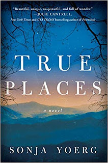True Places by Sonja Yoerg. A beautiful reminder that though we may busy ourselves seeking what we want, what we need has an uncanny way of finding us.