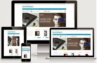 Online Store Blogger Template