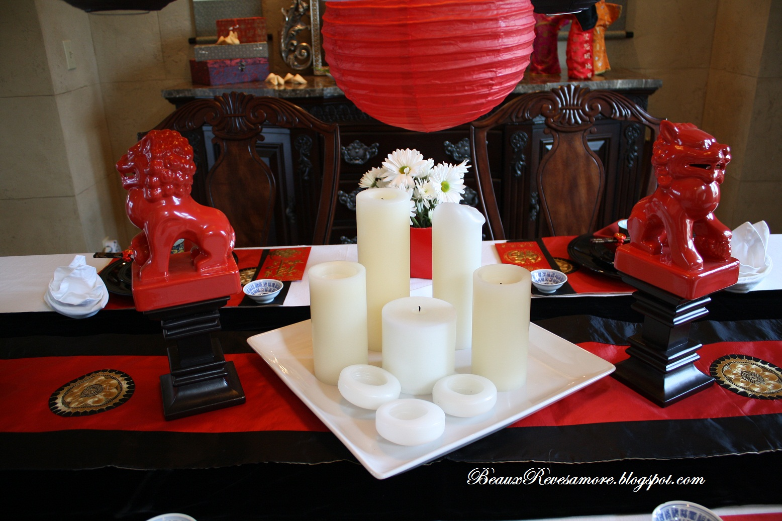 Interior Chinese decorating Ideas for Celebrating Chinese