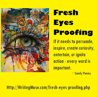 Fresh Eyes Proofing - Every author needs fresh eyes.