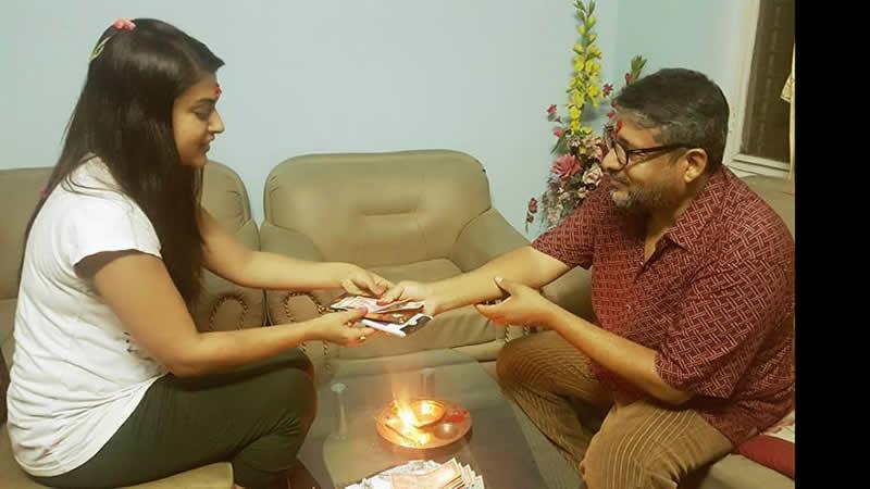 Chhabiraj Ojha and Shilpa Pokharel