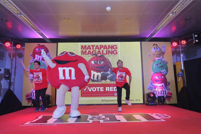 M&M'S RED WINS IN VOTE M&M'S 2016 CAMPAIGN