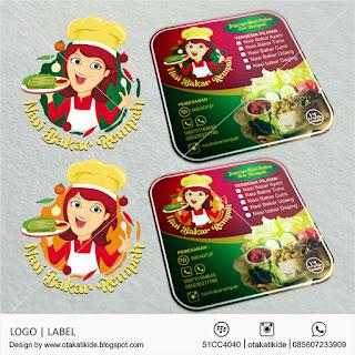 jasa desain logo label produk ukm makanan minuman perusahaan surabaya jakarta sidoarjo bali makasar medan solo pekanbaru