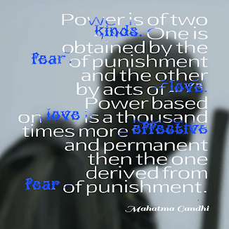 Power is of two kinds