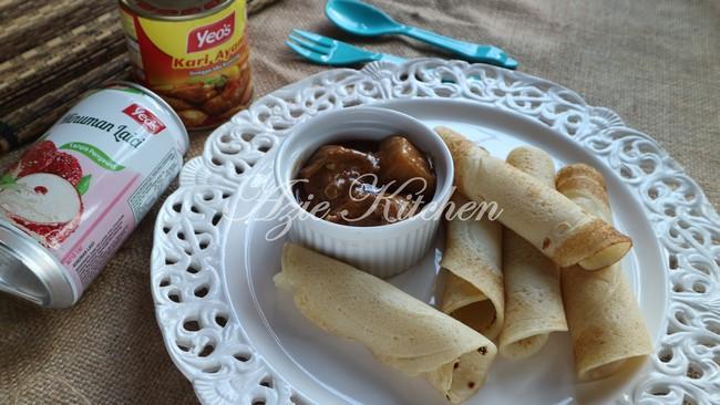 Lempeng Dengan Kari Ayam Yeos Azie Kitchen
