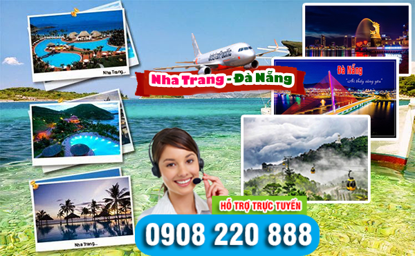 Giá vé máy bay Nha Trang đi Đà Nẵng