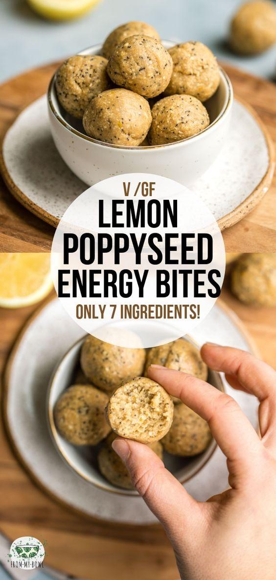Lemon Poppyseed Energy Bites