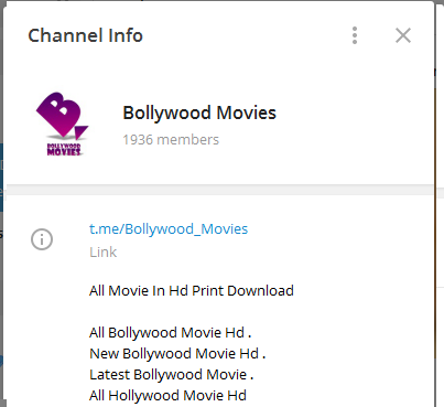 The best: bollywood channel in telegram