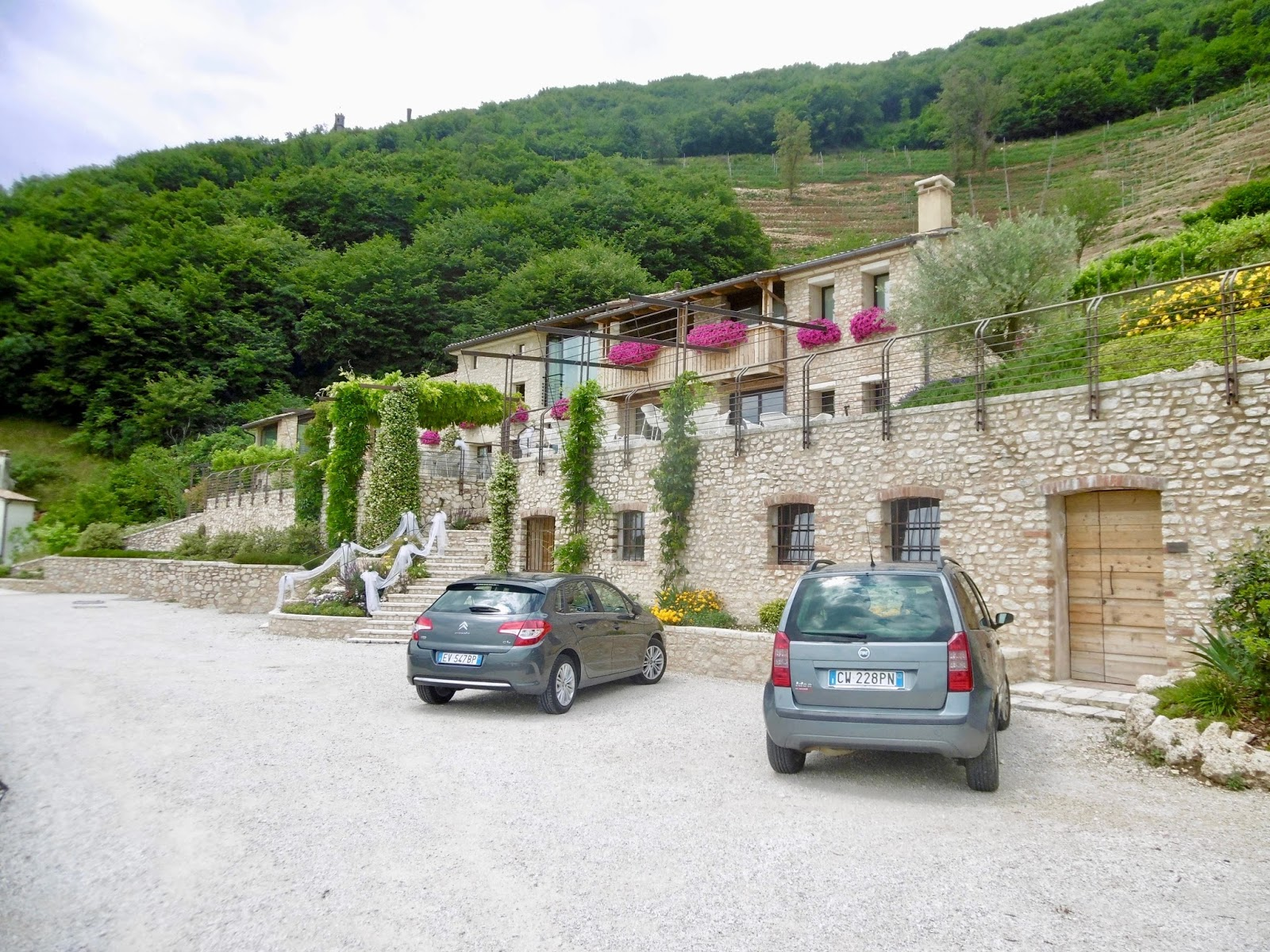 Farmhouse in Valdobbiadene where you can get free bike hire and cycle the prosecco