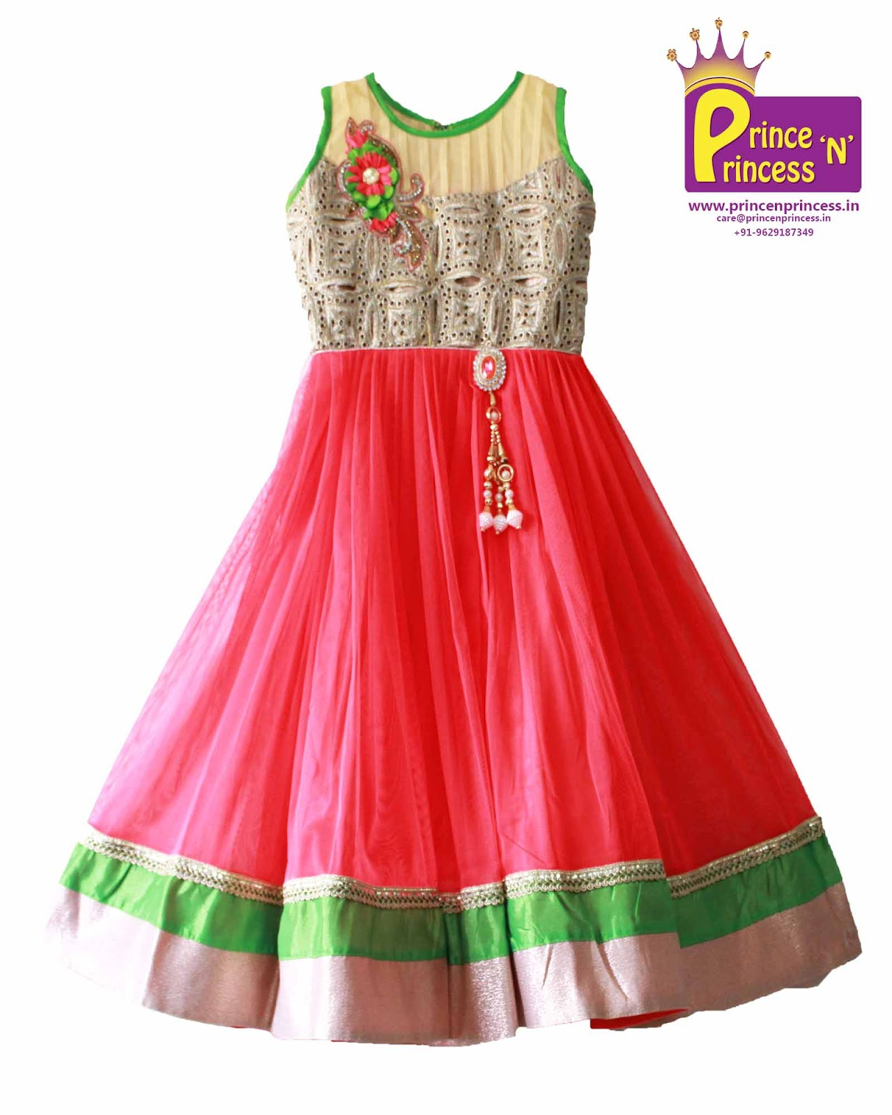 Kids Party Gown – www.princenprincess.in