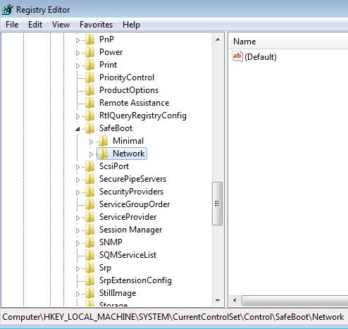 start windows installer in safe mode