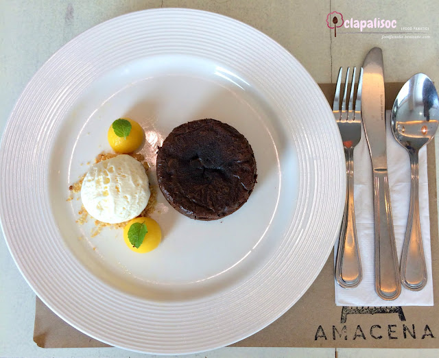 Belgian Chocolate Eruption for Amacena Tagaytay