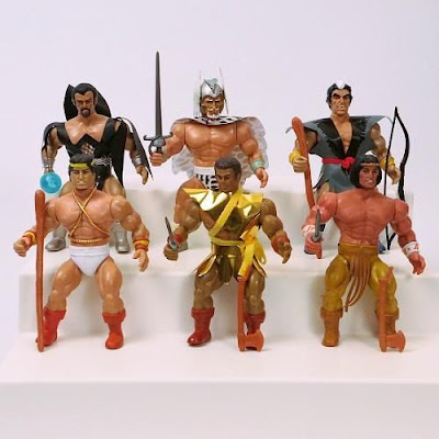 Remco Warlord action figures. Photo source: https://charltonhero.wordpress.com