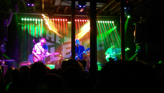 This is a picture of Teenage Fanclub at Bristol Fleece venue