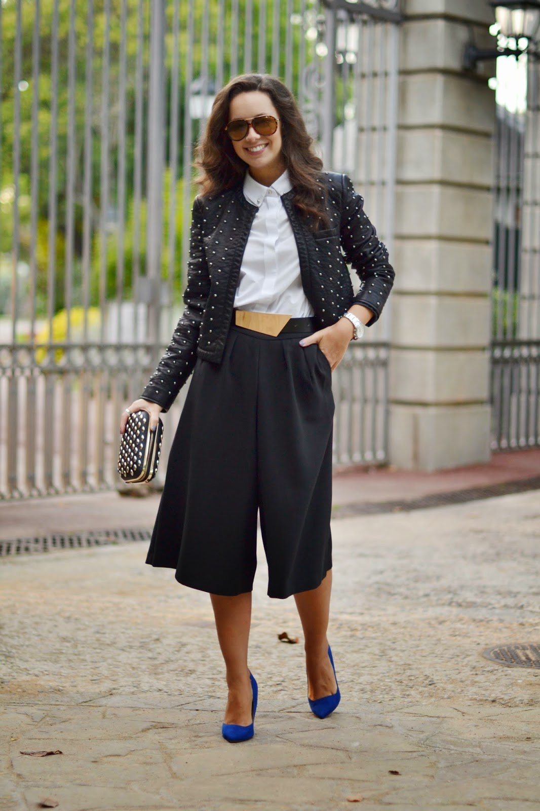 Combina tus pantalones culottes con éxito