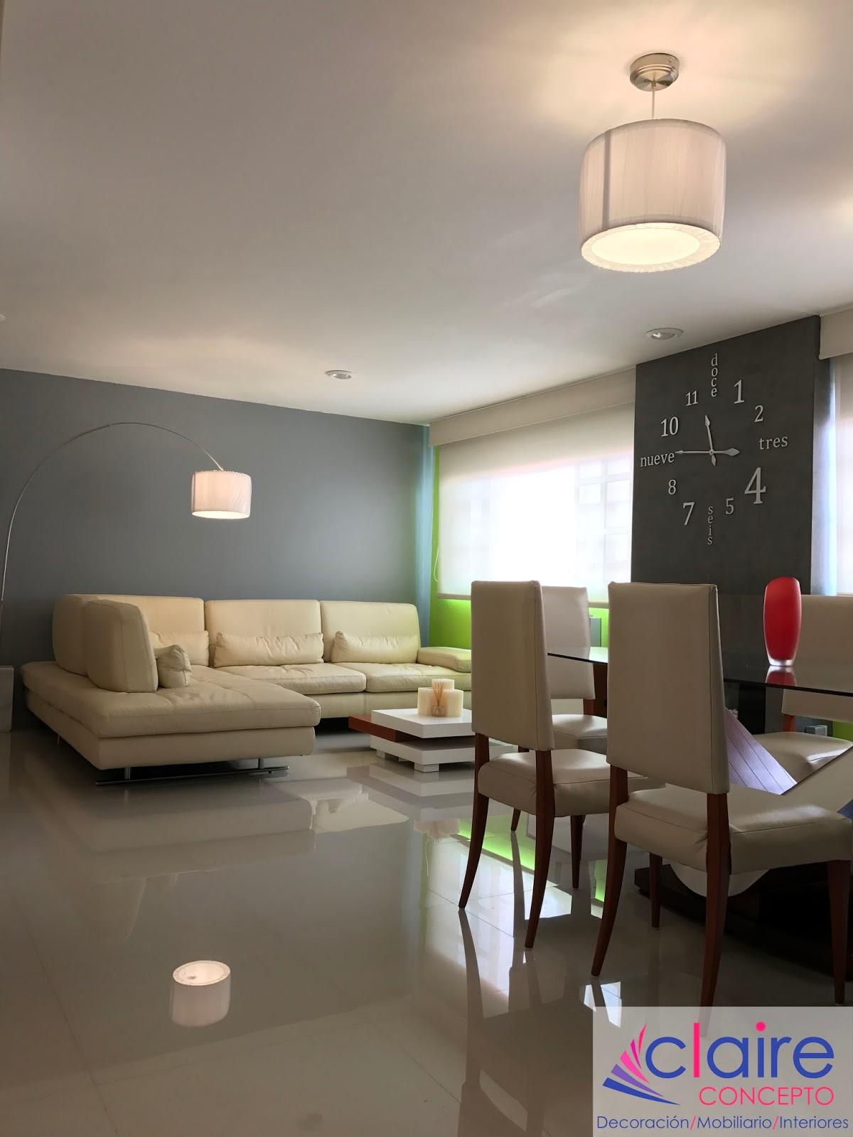 Dise o y decoraci n de interiores departamentos peque os y for Generando diseno muebles