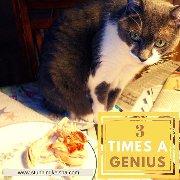 3 Times a Genius