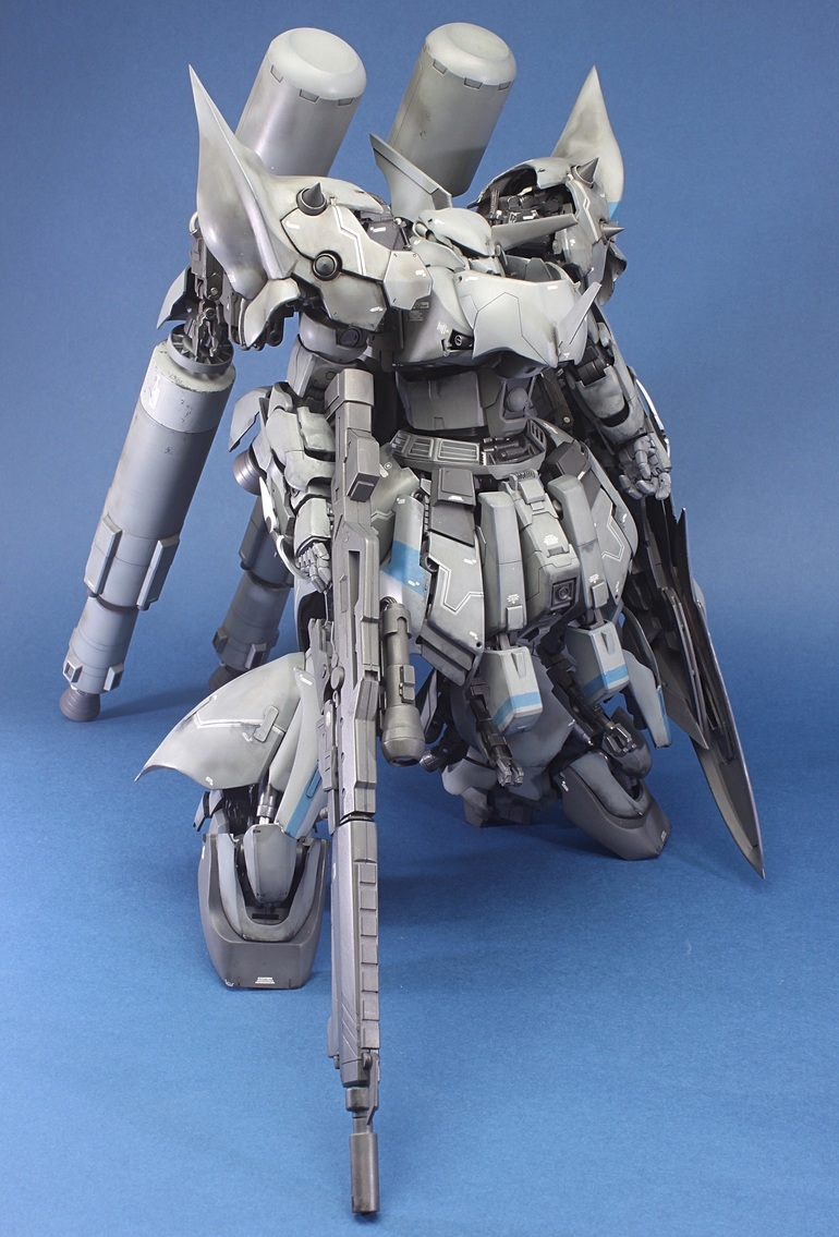"Custom Build: MG 1/100 Sinanju ""Georg"" - Gundam Kits ..."