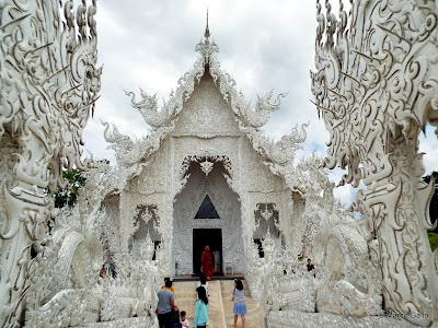 TEMPLO BLANCO. CHIANG RAI, TAILANDIA