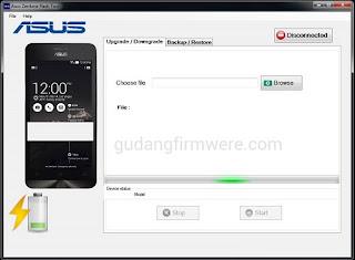 Download ASUS Zenfone Flash tool Terbaru V2.0.1