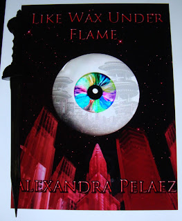 Portada del libro Like Wax Under Flame, de Alexandra Pelaez