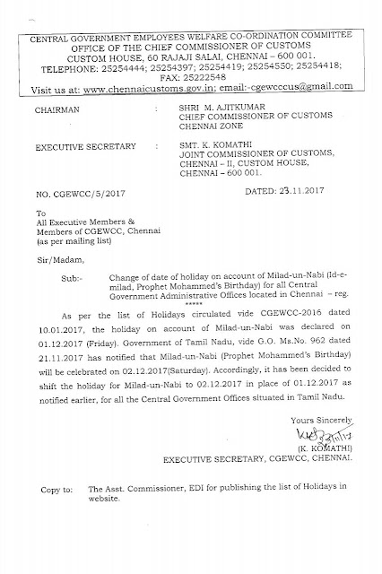 http://www.centralgovernmentnews.com/change-of-date-of-holiday-on-account-of-milad-un-nabi-id-e-milad-prophet-mohammeds-birthday-for-all-central-government-administrative-offices-located-in-chennai/