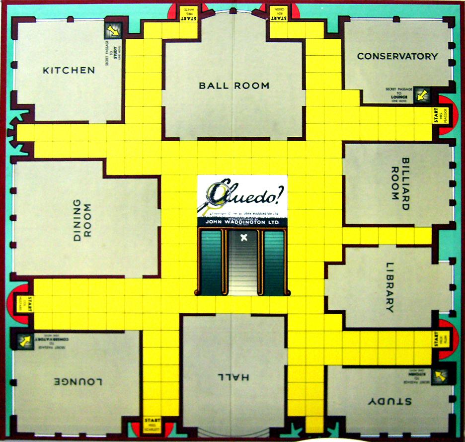 Cluedo Online Free Board Game