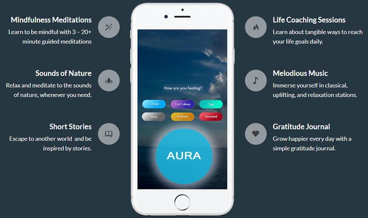 Aura Meditation App Discount Coupon