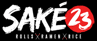 The logo to the new sake 23 restaurant in St. Petersburg, Florida