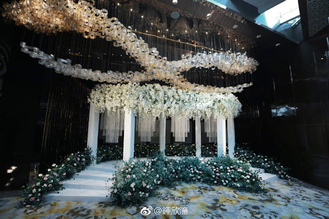 Gillian Chung wedding venue Hong Kong