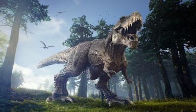Meski T. Rex Berbadan Besar, Mampu Berbalik Tubuh Dengan Cepat