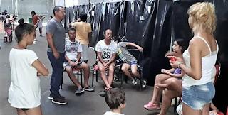 Contención y asistencia en los Centros de Evacuados: programas municipales deportivos
