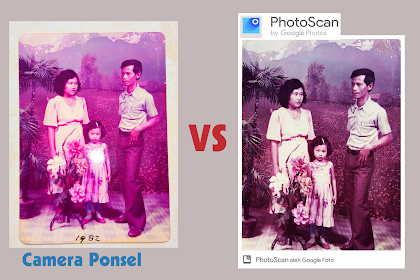 Cara Scan Foto Lawas Pakai app Android PhotoScan By Google