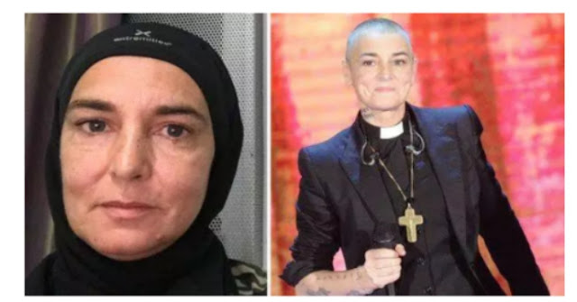 Sinead o'connor has concertés to islam and changer her name to shuhada davitt