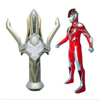 Ultraman Ginga Toys with Ginga Spark
