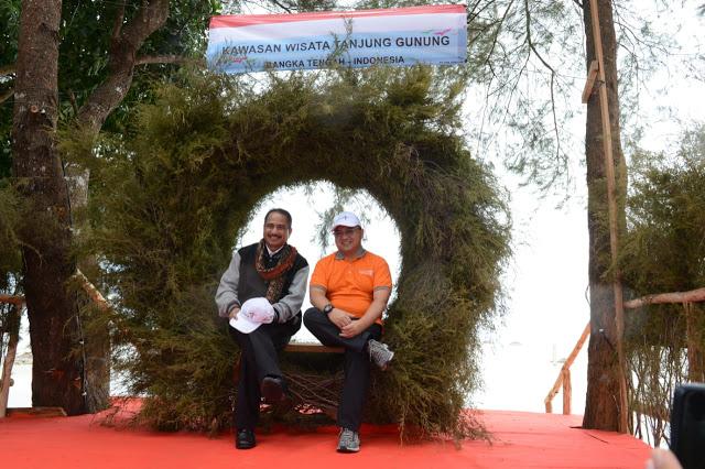 Menengok persiapan Destinasi Pariwisata Tanjung Gunung dan Sungailiat Bangka