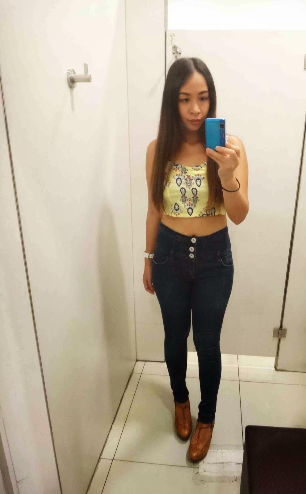 Cupkaye Dressing Room Selfie 14-4097