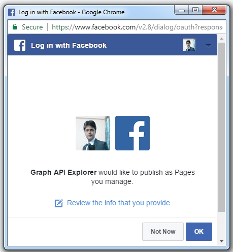 how to get profile pic from facebook using facebook api