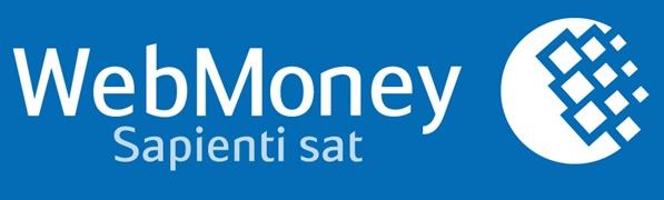 Logo Webmoney sebagai payment processor populer dan aman